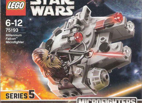 LEGO® 75193 Star Wars Millennium Falcon Microfighter