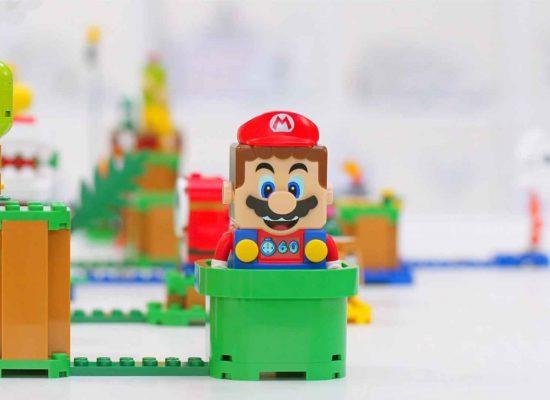 LEGO® und Nintendo® kündigen interaktives Super Mario™ Set aus Lego-Steinen an