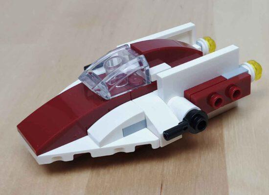 LEGO® Star Wars Heft Nr. 60 mit A-Wing Mini-Modell