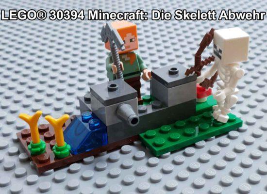 LEGO® 30394 Minecraft: Die Skelett-Abwehr im Polybag