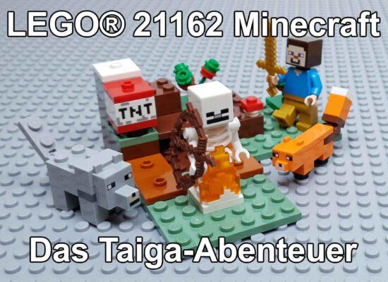 LEGO® 21162 Minecraft: Das Taiga-Abenteuer