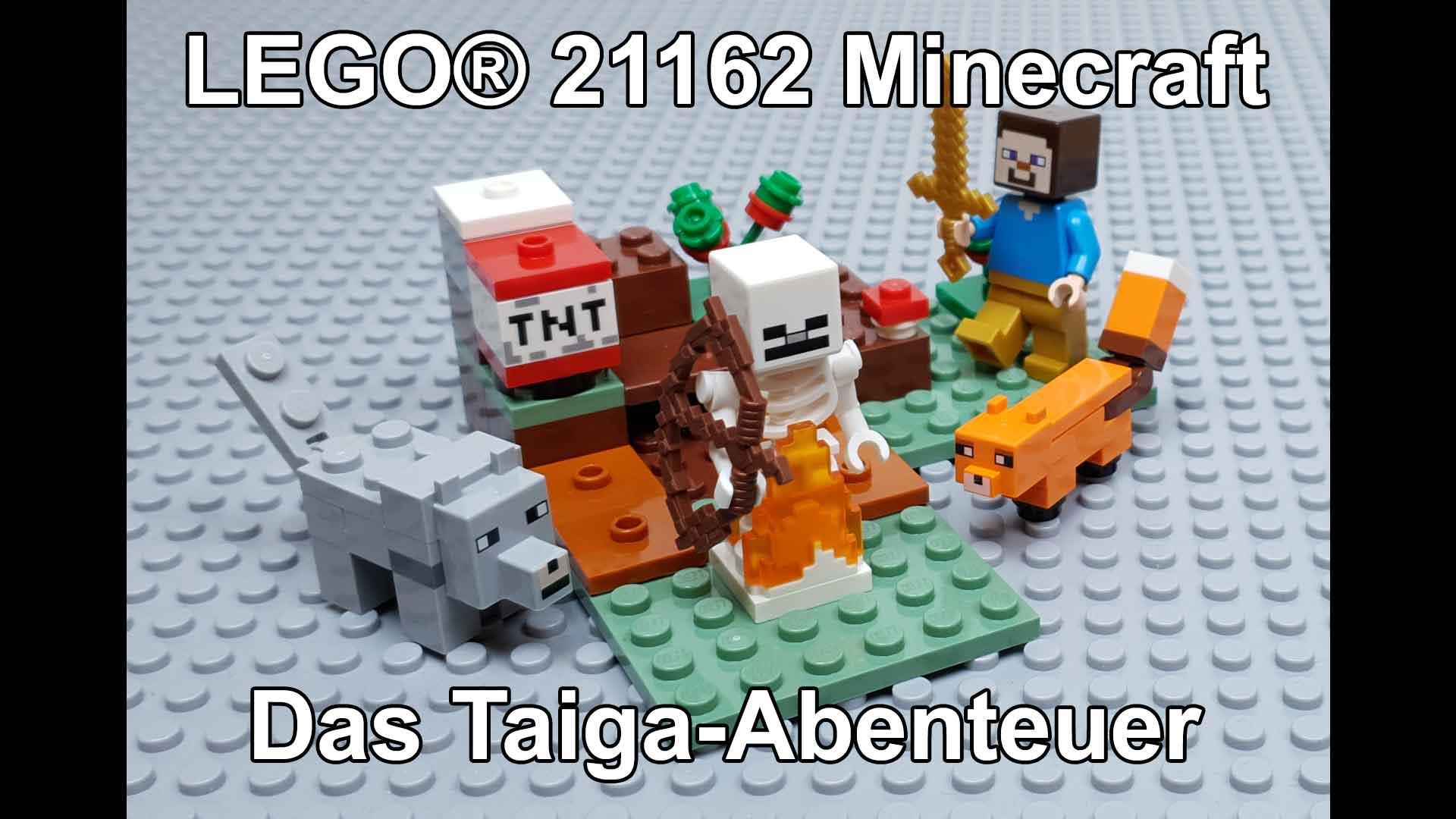 LEGO Minecraft: Das Taiga-Abenteuer