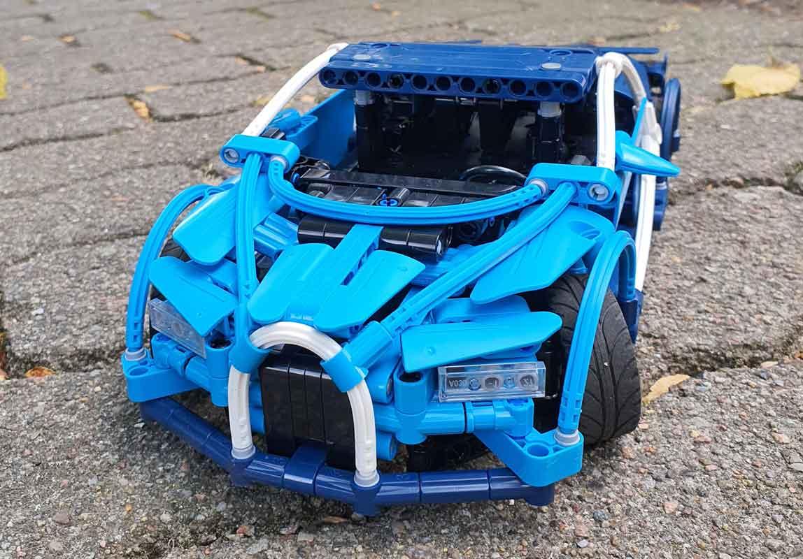 CaDA Blue Sports Car