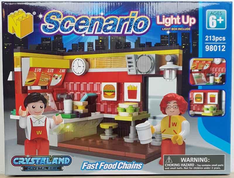N-Bricks Fast Food Chains Box