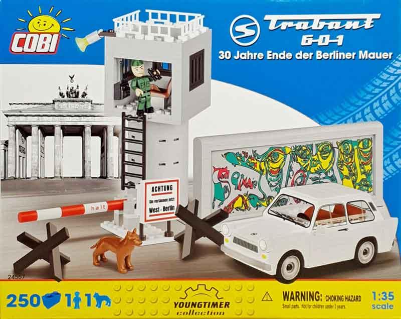 COBI Trabant 601 Berliner Mauer
