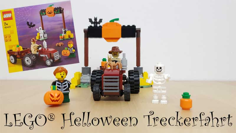 Halloween Treckerfahrt LEGO 40423