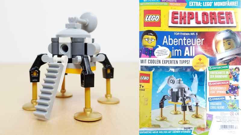 LEGO® Explorer Magazin Nr 5: Abenteuer im All