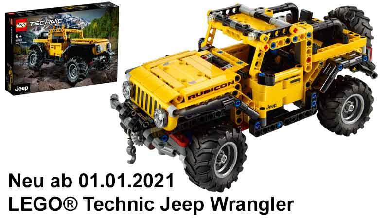 LEGO® Technic Jeep® Wrangler Rubicon