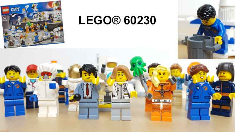 LEGO® City 60230 Minifiguren Set
