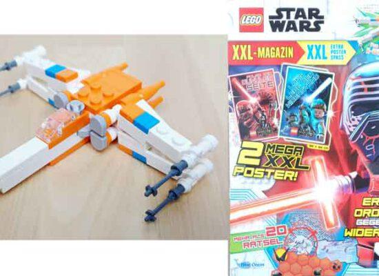 LEGO® Star Wars XXL Magazin Nr. 1  (2020) mit X-Wing Starfighter™