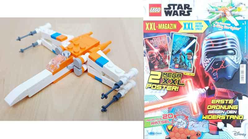 LEGO® Star Wars XXL Magazin Nr. 1 mit Polybag vom X-Wing