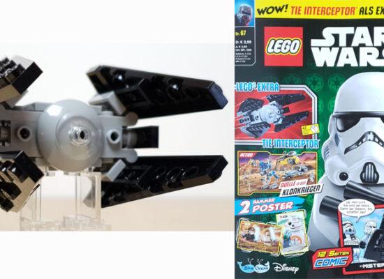 LEGO® Star Wars Magazin Nr. 67/2020 mit Tie Interceptor™
