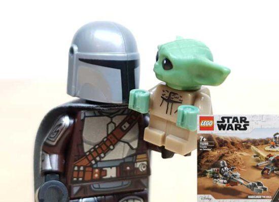 LEGO® 75299 Ärger auf Tatooine™ – das Set mit dem süßesten Bewohner der Star Wars™-Welt