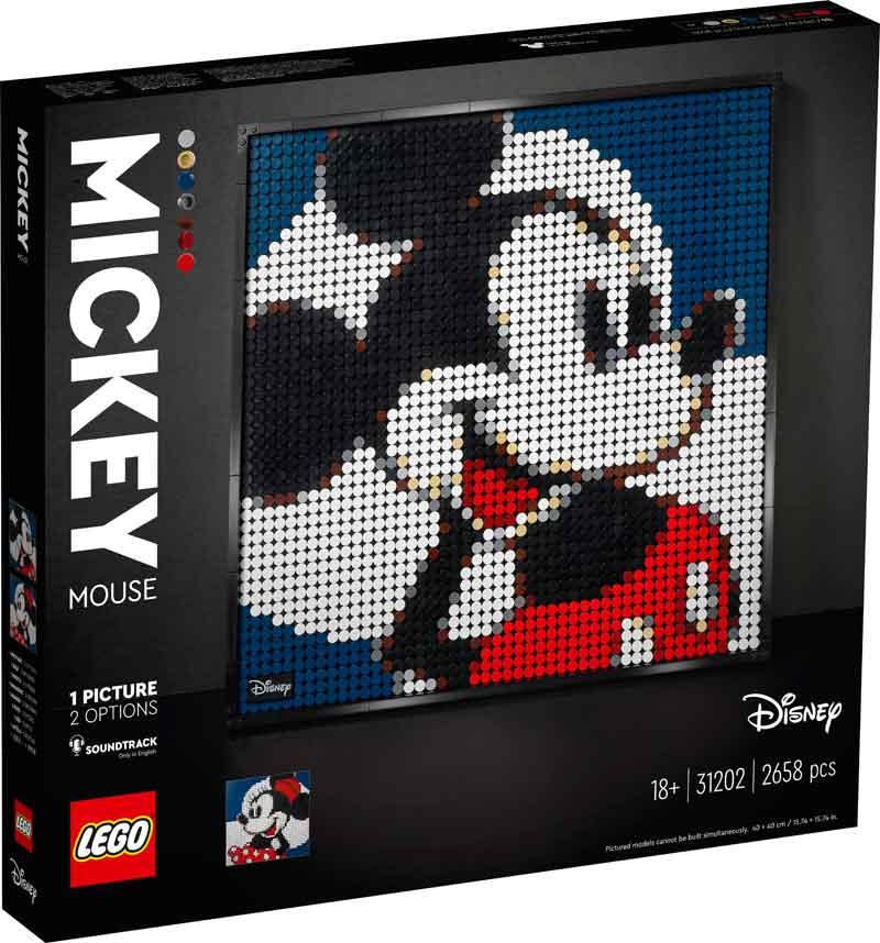 LEGO® 31202 Mickey Mouse Art Set
