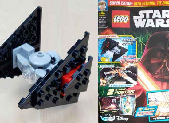 LEGO® Star Wars Magazin 64/2020 mit Sith Eternal Tie Dagger™