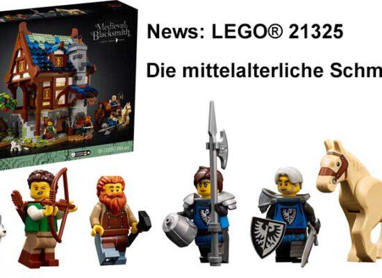 LEGO® kündigt die mittelalterliche Schmiede an (21325)