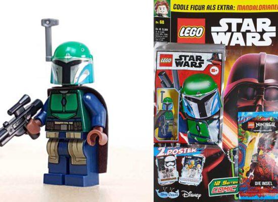 LEGO® Star Wars Magazin  68/2021 mit Mandalorianer™-Minifigur