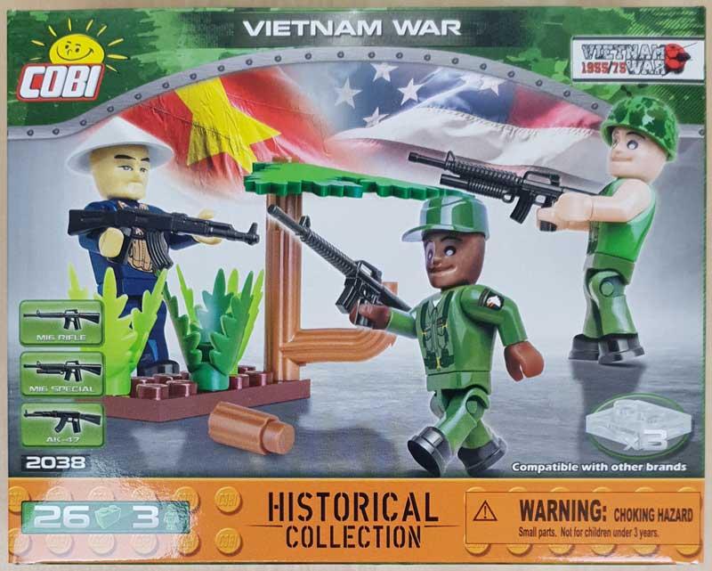 COBI Minifiguren-Set Vietnam War (2038)