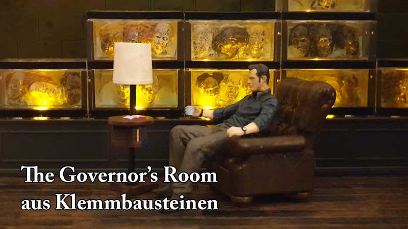 The Governor's Room The Walking Dead