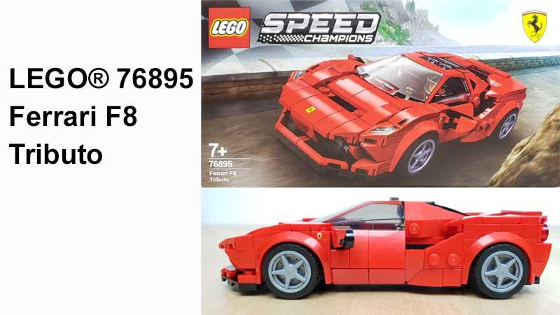LEGO® Ferrari F8 Tributo (76895)