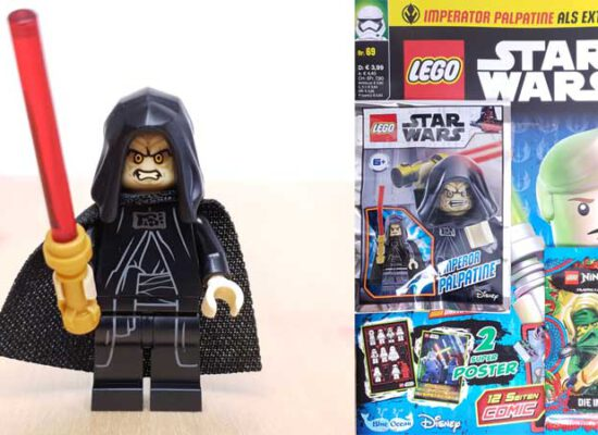 LEGO® Star Wars Magazin 69/2021 mit Emperor Palpatine  Minifigur