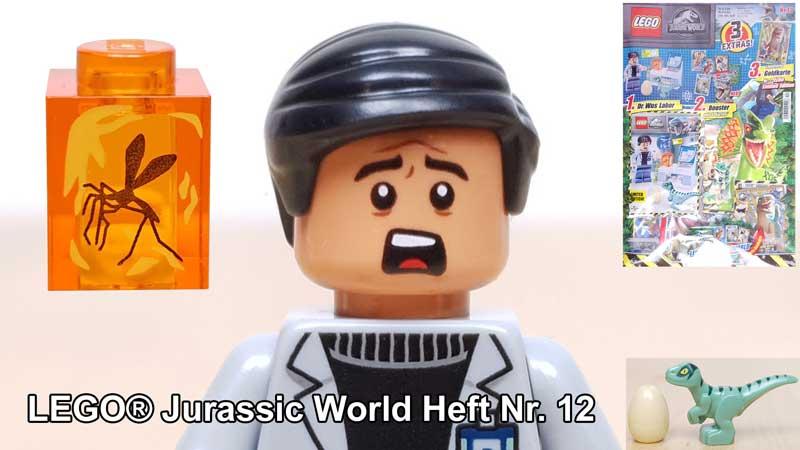 LEGO® Jurassic World™ Magazin Nr. 12