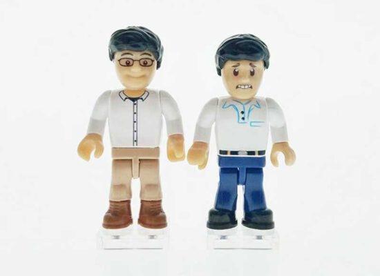 COBI plant neue Beine und Kopfbedeckungen für die Minifiguren