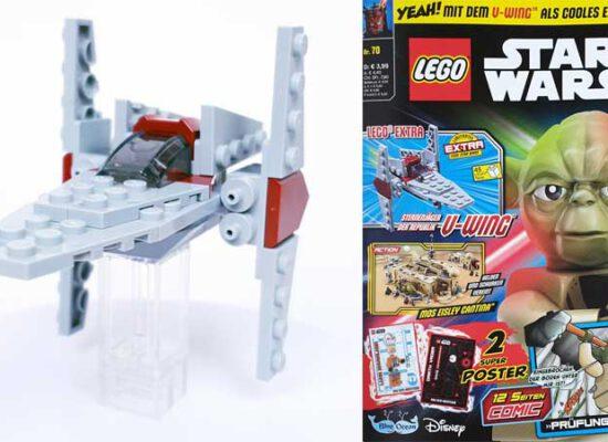 LEGO® Star Wars Magazin 70/2021 mit V-Wing™