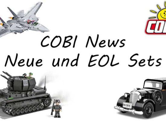COBI kündigt neue, limitierte und auslaufende Sets an