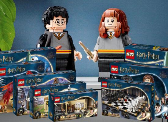 LEGO® gibt Details zu neuen Harry Potter™-Sets bekannt