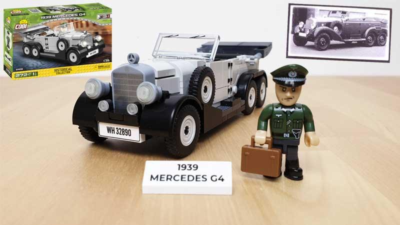 COBI 2409 1939 Mercedes Review
