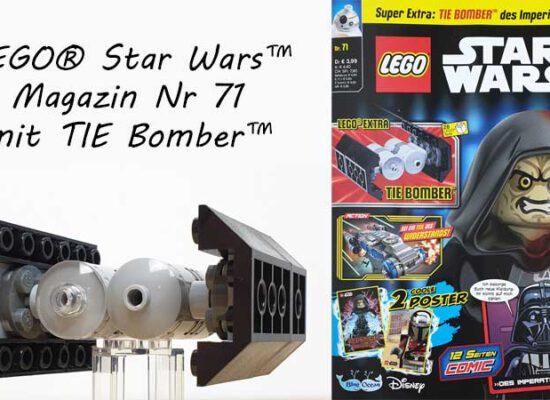 LEGO® Star Wars Magazin 71/2021 mit TIE Bomber™