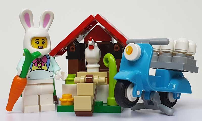 LEGO Set Osterhäuschen