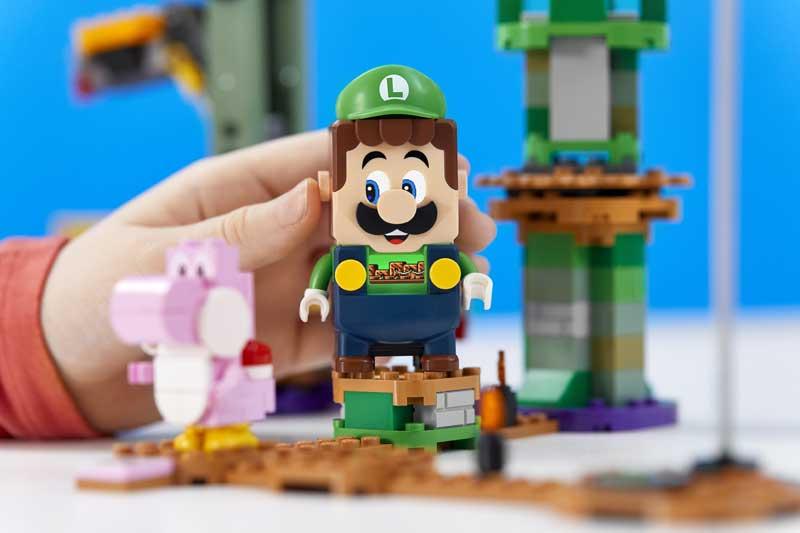 Luigi Super Mario von LEGO Starterset