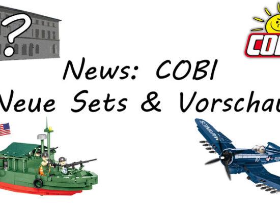 Vorschau auf das 2. Halbjahr: Bald COBI-Gebäude?