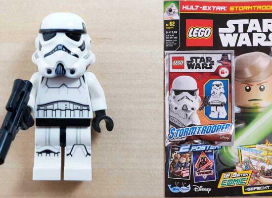 LEGO® Star Wars™ Magazin 62/2020 mit Stormtrooper™-Minifigur