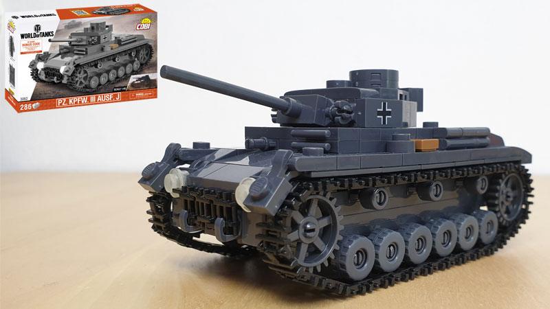 COBI PZ. Kpfw. III Ausf. J 3062