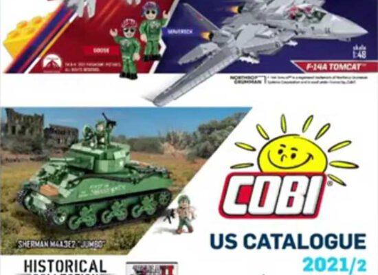 COBI präsentiert neuen Katalog für 2021/2