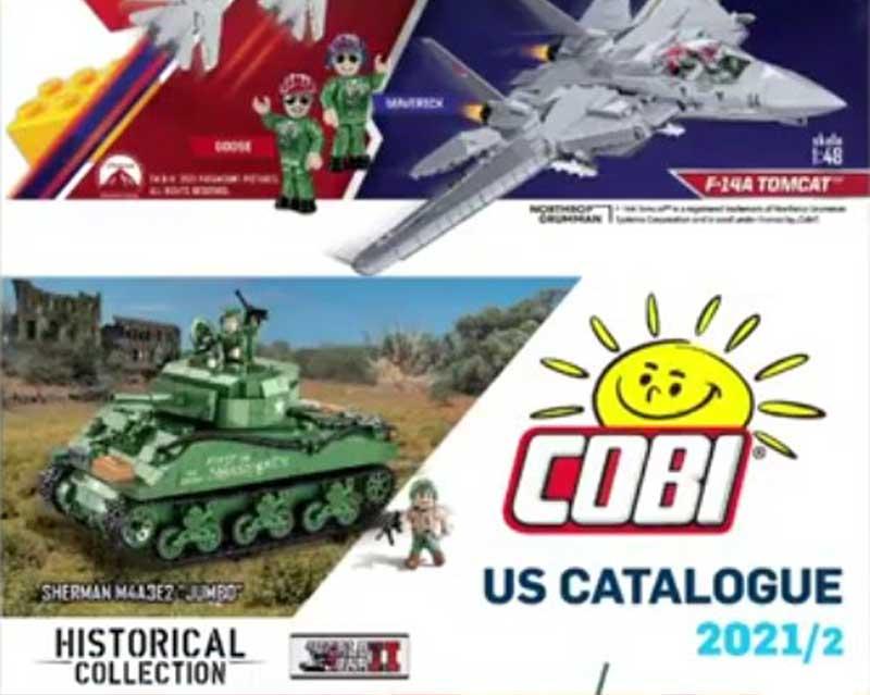 COBI Katalog 2021/2