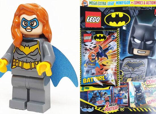 LEGO® Batman™ Magazin 15/2021 mit Batgirl™ Minifigur