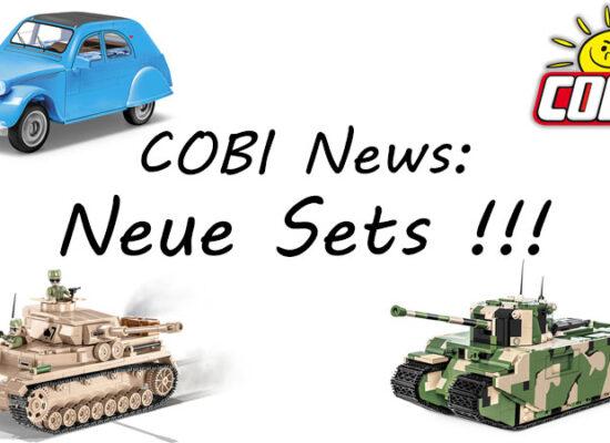 COBI News: Neue Sets aus dem Katalog 2021/2 in der Übersicht