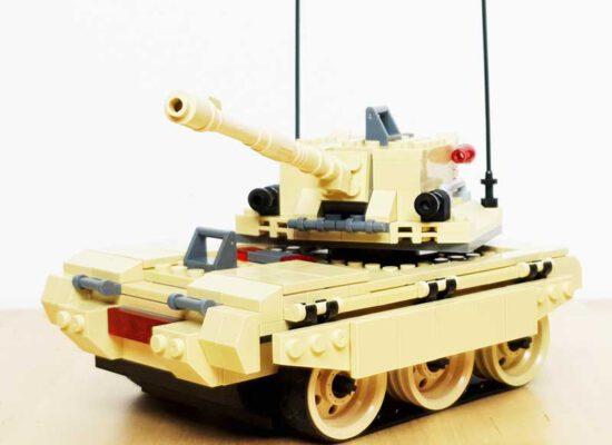 Jie Star Panzer (29010) – M1A1 Blum Stack Tank – Review
