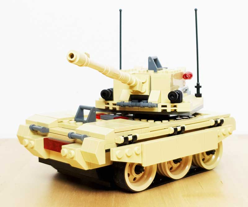 Jie Star Panzer – M1A1 Blum Stack Tank (29010)