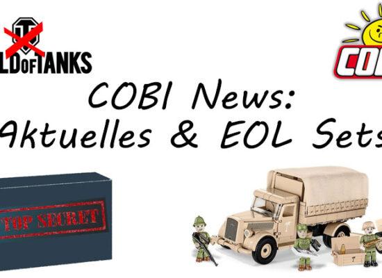 COBI News: WOT und WoWS-Lizenzen, neue Sets und neue limitierte Ausgabe