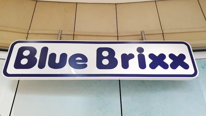 BlueBrixx Logo Eröffnung in Hamburg
