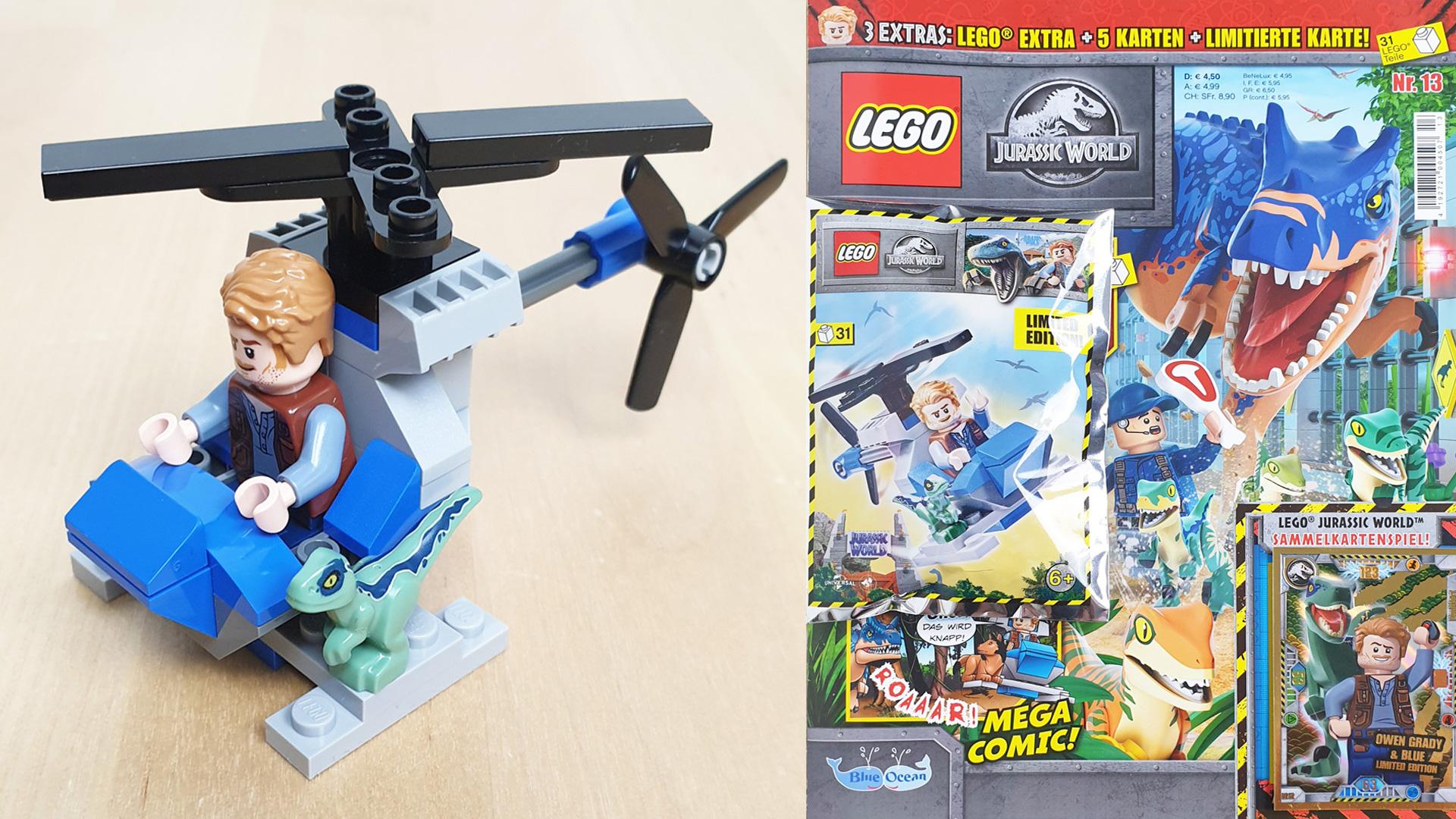 LEGO Jurassic World Magazin Nr. 13