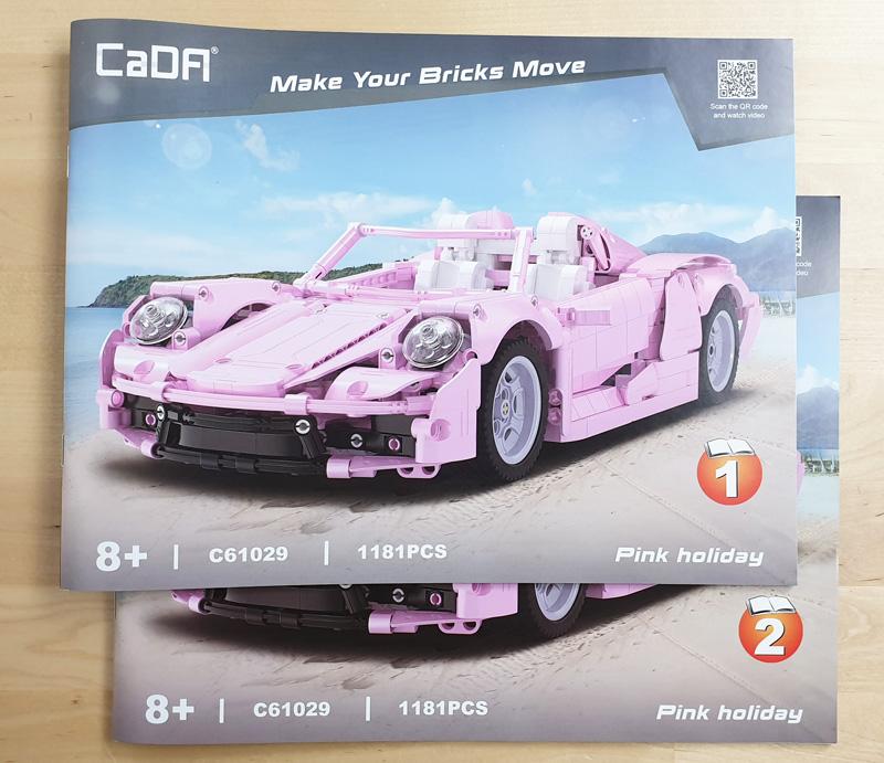 CaDA Pink Holiday Bauanleitung