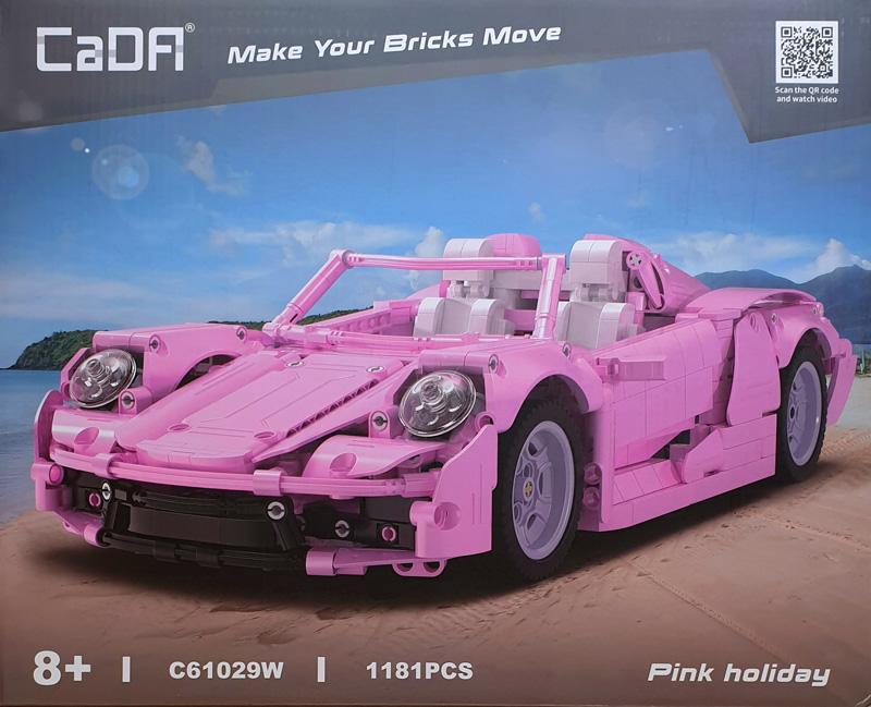 CaDA Pink Holiday Supercar
