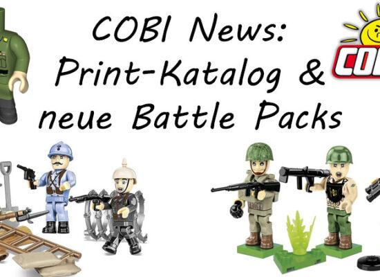 Great War Collection wird erweitert und weitere News aus der COBI-Welt