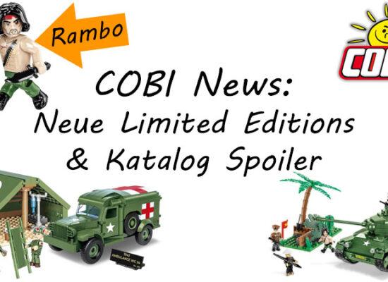 Neue Limited Editions und weitere News aus der COBI-Welt